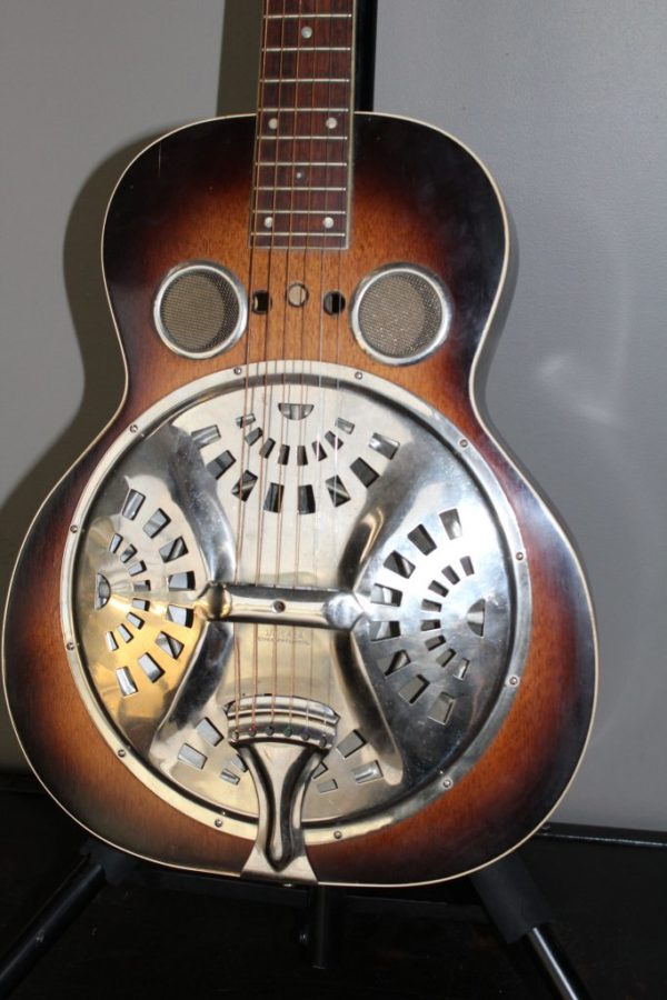 1937 Regal Dobro Model 46 Round Neck Sunburst