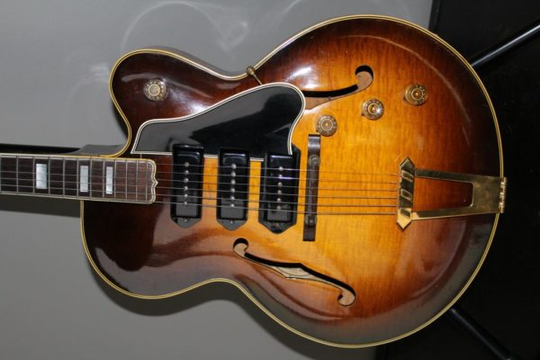 1950 GIBSON ES-5 HOLLOW BODY SUNBURST FLAME TOP