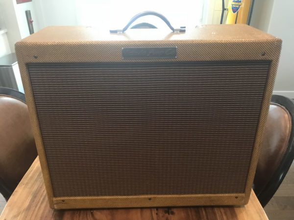 Victoria Double Deluxe Tweed Combo Guitar Amp