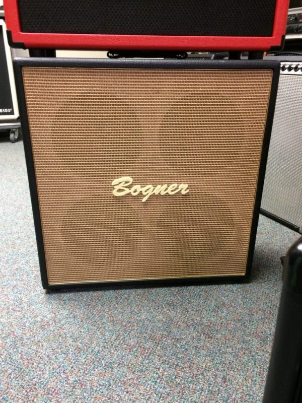 Rare Bogner 4x10 Guitar Cab W/Alinco Golds
