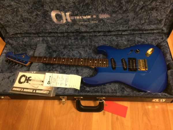 IMG 7007 1 600x450 - Charvel USA Custom Shop Jake E. Lee Signature Blue Burst Guitar