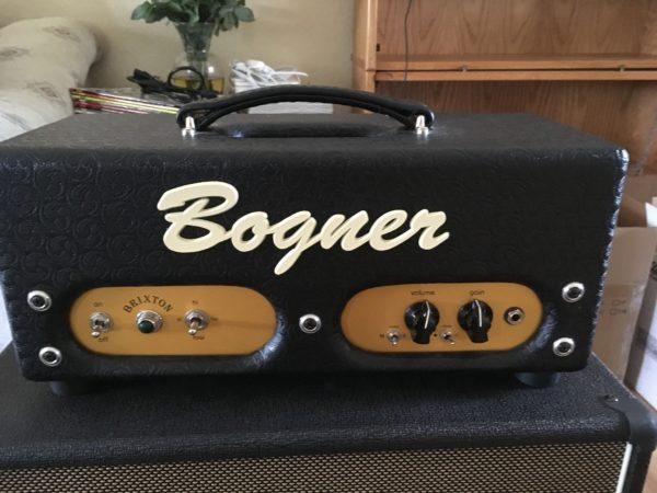 IMG 7710 600x450 - Bogner Brixton High Gain 12watt Hand-wired Tube Head