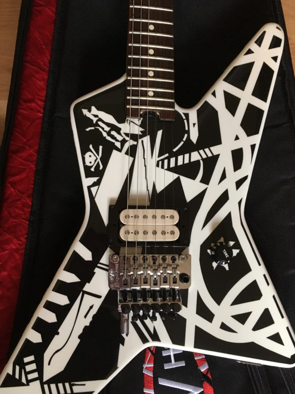 IMG 7807 e1522855479583 600x800 - EVH Stripe Series Star  Black and White Guitar