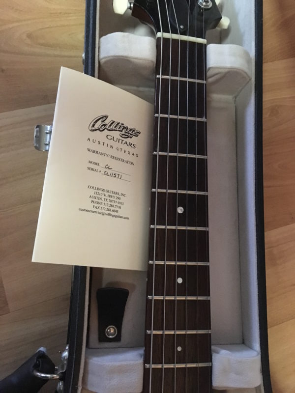 IMG 7895 600x800 - Collings City Limits Gold Top Guitar P-90's
