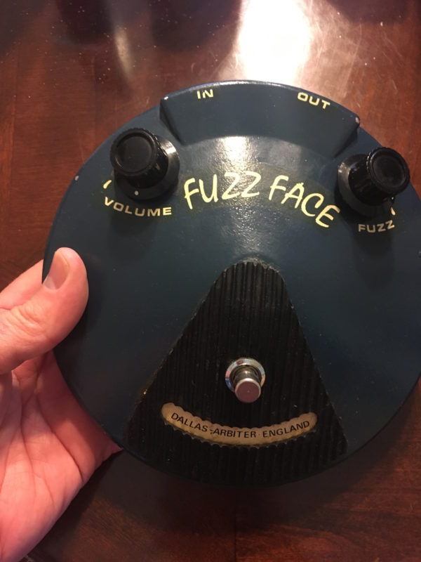 IMG 8342 600x800 - 1972 Dallas Arbiter Fuzz Face Pedal Made in England