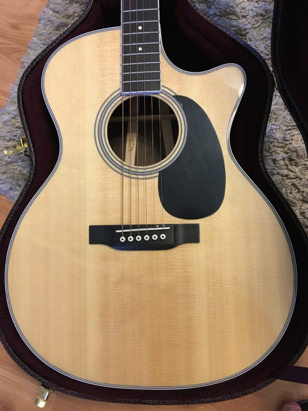 IMG 9345 e1531423267579 600x800 - Martin GPC 35E Acoustic Electric Cutaway Guitar-New!