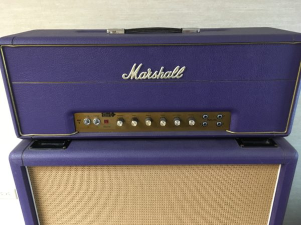 IMG 8995 600x450 - 1994 Marshall Limited Edition Purple 1959 SLP Hendrix Full Stack