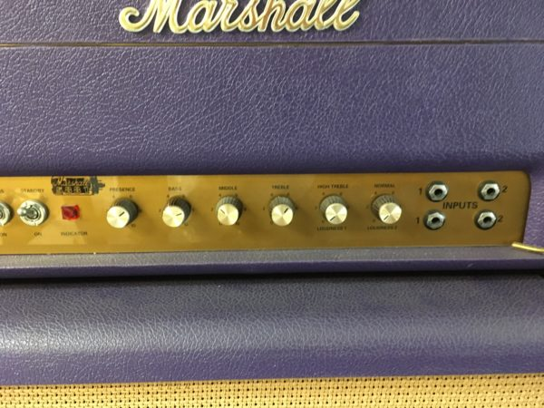 IMG 8997 600x450 - 1994 Marshall Limited Edition Purple 1959 SLP Hendrix Full Stack