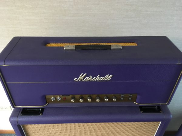 IMG 8998 600x450 - 1994 Marshall Limited Edition Purple 1959 SLP Hendrix Full Stack