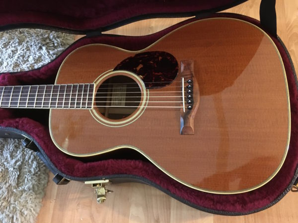 IMG 9214 600x450 - Santa Cruz Golden State H Acoustic Guitar #8 of 10 Made