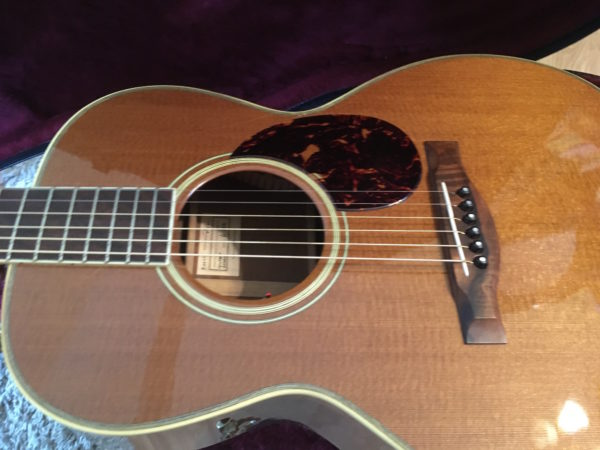 IMG 9217 600x450 - Santa Cruz Golden State H Acoustic Guitar #8 of 10 Made