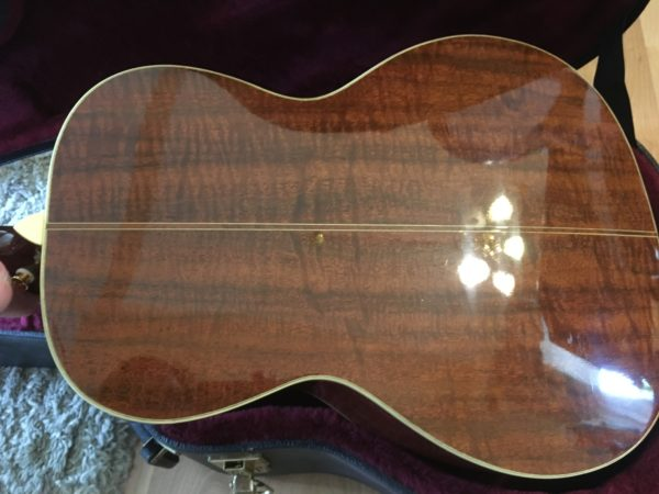 IMG 9219 600x450 - Santa Cruz Golden State H Acoustic Guitar #8 of 10 Made