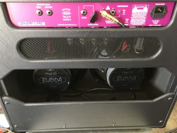 IMG 9255 2 600x450 - Budda Superdrive 30 Series II 2x12 Combo Tube Guitar Amp
