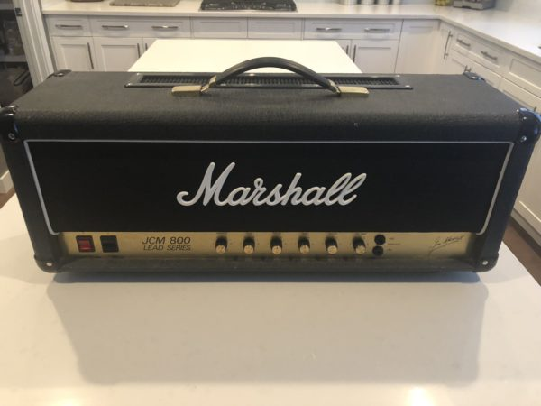 IMG 1793 600x450 - Marshall JCM 800 2203 Reissue 100 Watt Tube Head