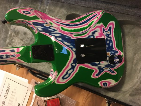 IMG 9594 600x450 - ESP LTD Cult '86 Vernon Reid Limited Edition Multi-Swirl Guitar-New!