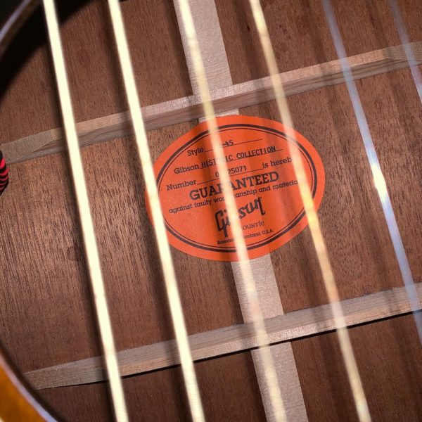 IMG 0158 600x600 - 2005 Gibson J-45 Historic Collection Acoustic Guitar