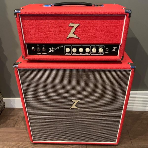 IMG 0753 600x599 - Dr Z Remedy 40 Watt Head W/4x10 Cab