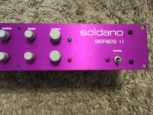IMG 1011 300x225 - Soldano SP 77 Tube Guitar Preamplifier Purple Series II
