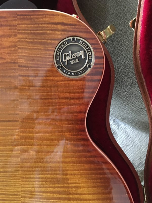 IMG 1022 e1554072053123 600x800 - 2017 Gibson Les Paul Standard Premium Plus AAA Flame Top And Back Guitar