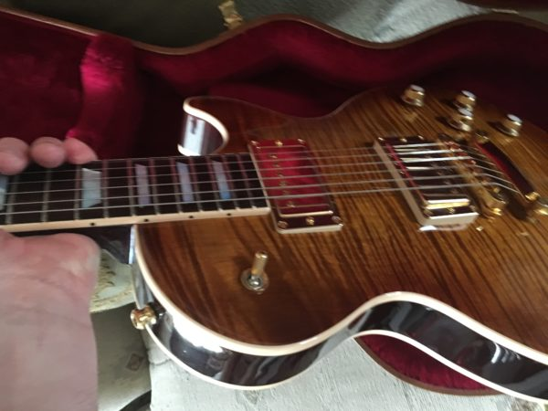 IMG 1024 600x450 - 2017 Gibson Les Paul Standard Premium Plus AAA Flame Top And Back Guitar