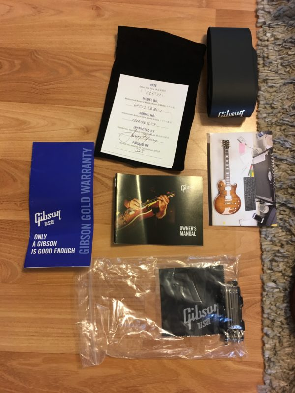 IMG 1031 e1554216283205 600x800 - 2017 Gibson Les Paul Standard Premium Plus AAA Flame Top And Back Guitar