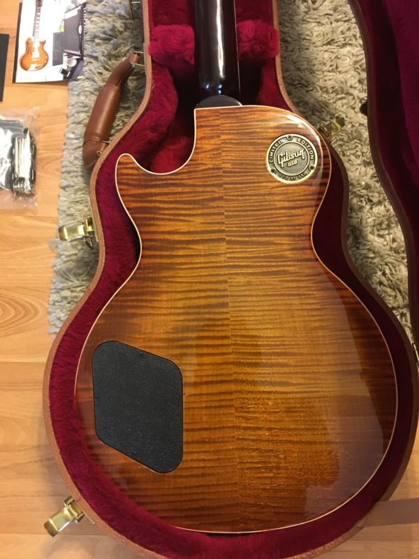 IMG 1034 e1554075503721 600x800 - 2017 Gibson Les Paul Standard Premium Plus AAA Flame Top And Back Guitar
