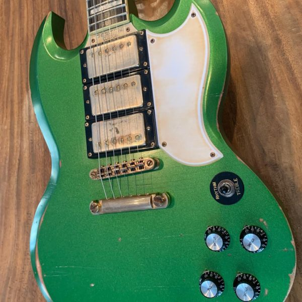 IMG 1359 600x600 - Palermo The Sixty One Custom SG Relic Guitar