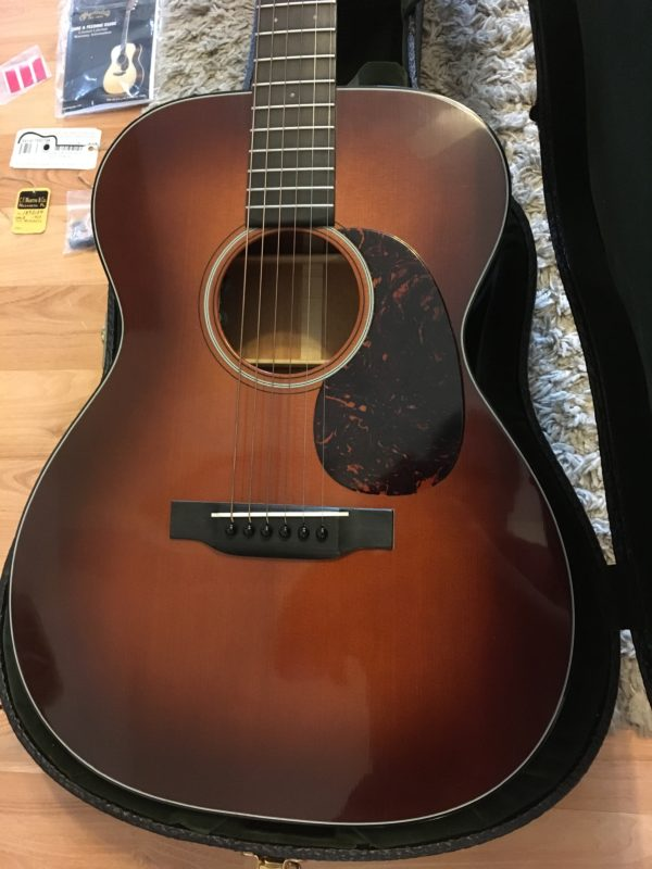 IMG 1101 e1555009638348 600x800 - Martin OM18 Authentic 1933 VTS Acoustic Guitar W/Trance Audio Amulet