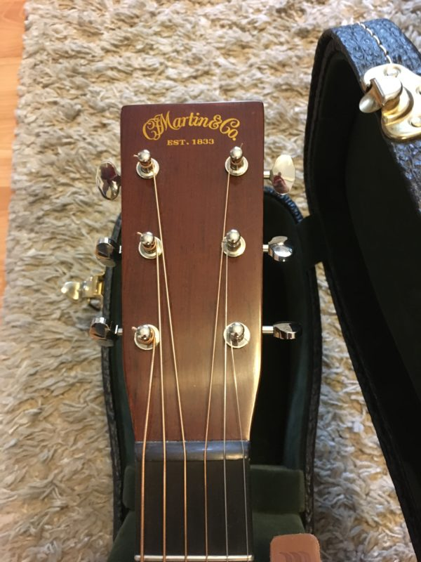 IMG 1102 e1555009661137 600x800 - Martin OM18 Authentic 1933 VTS Acoustic Guitar W/Trance Audio Amulet