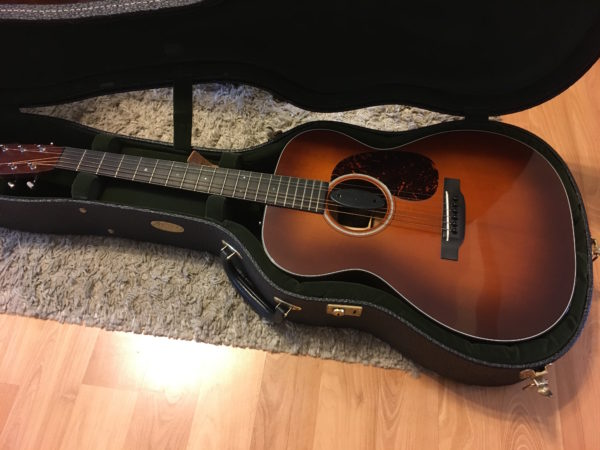 IMG 1115 600x450 - Martin OM18 Authentic 1933 VTS Acoustic Guitar W/Trance Audio Amulet