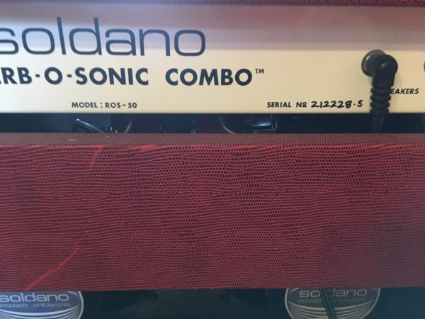 IMG 1134 600x450 - Soldano ROS Reverb O Sonic 2x12 Combo Tube Amp-Red Tolex
