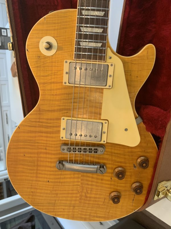 IMG 1634 e1556402088859 600x800 - Bill Nash Historic Aged Makeover Gibson Les Paul Standard AAAAA Lemonburst