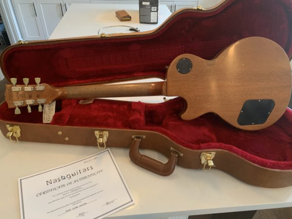 IMG 1638 600x450 - Bill Nash Historic Aged Makeover Gibson Les Paul Standard AAAAA Lemonburst