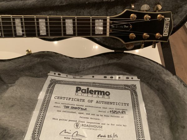 IMG 1664 600x450 - 2019 Palermo The Seventy Four Heavy Relic Guitar in Black