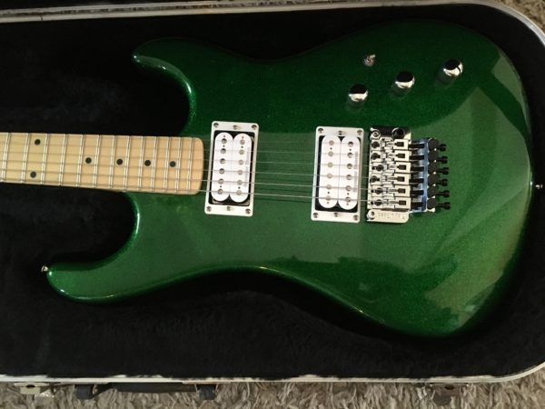 IMG 1336 600x450 - Kramer Limited Edition Pacer Vintage Emerald Green Sparkle Guitar