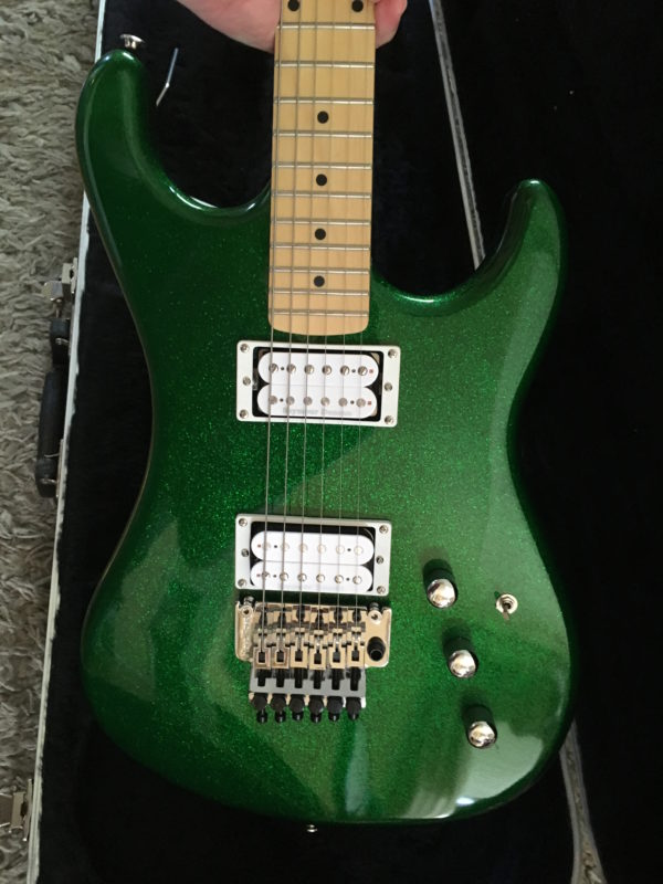 IMG 1339 600x800 - Kramer Limited Edition Pacer Vintage Emerald Green Sparkle Guitar