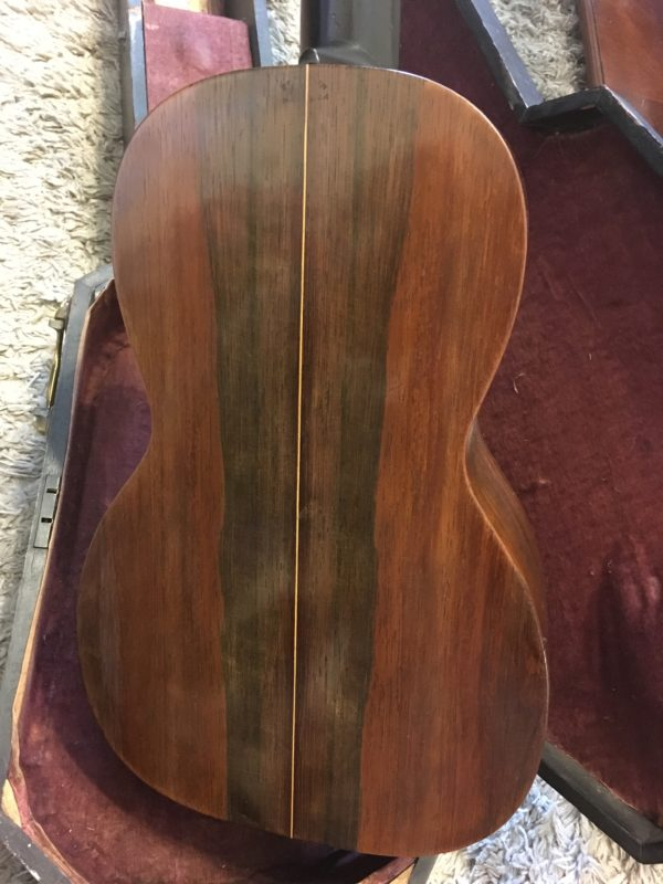 IMG 1473 e1558919735333 600x800 - Vintage 1850's CF Martin New York 3 17 Parlor Guitar Brazilian Rosewood Coffin Case