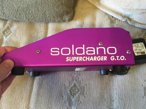 IMG 1489 600x450 - Soldano Supercharger GTO Tuber Overdrive Pedal Purple