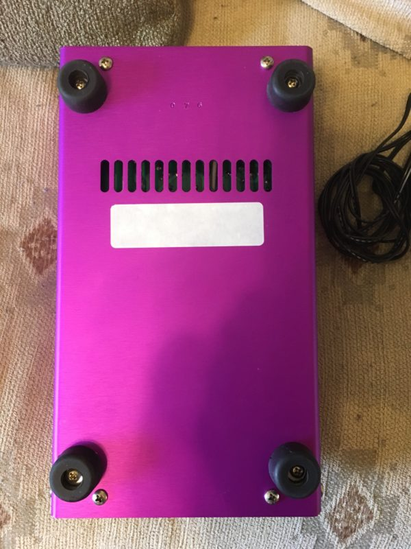 IMG 1490 600x800 - Soldano Supercharger GTO Tuber Overdrive Pedal Purple