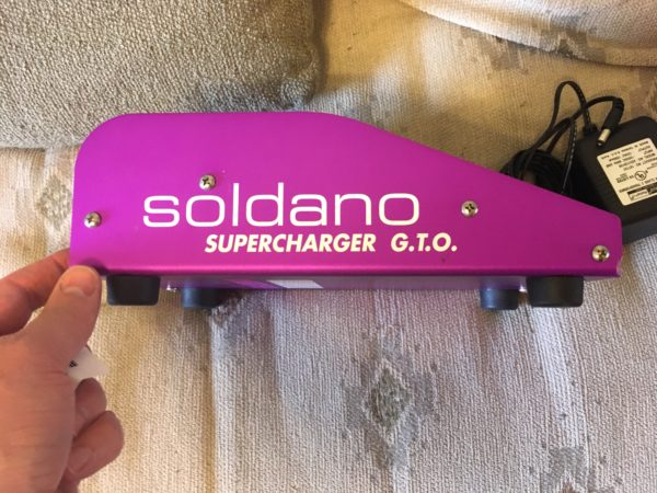 IMG 1492 600x450 - Soldano Supercharger GTO Tuber Overdrive Pedal Purple