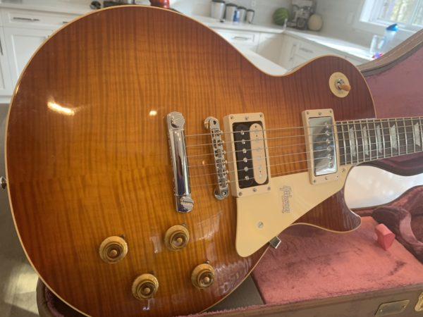 IMG 1775 600x450 - 2018 Gibson Custom Shop 1959 Historic Les Paul Awesome Top!