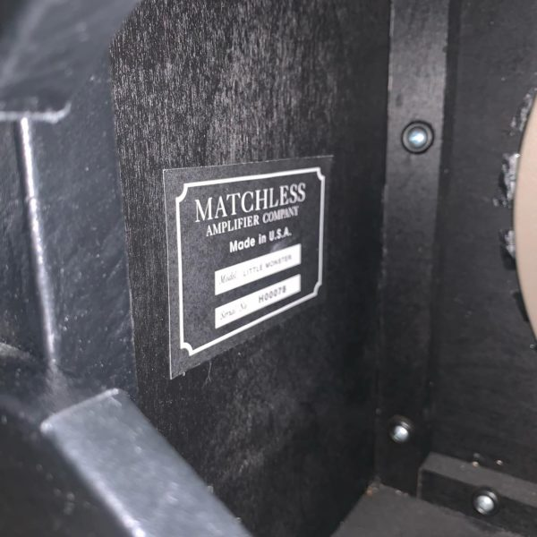 IMG 1959 600x600 - Matchless Little Monster 1x12 - 9 watt combo