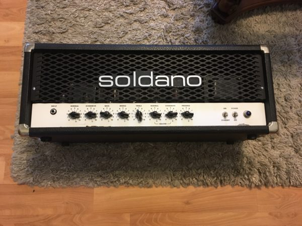 IMG 1647 600x450 - Soldano HR Hot Rod 100+ Plus Tube Amp Head