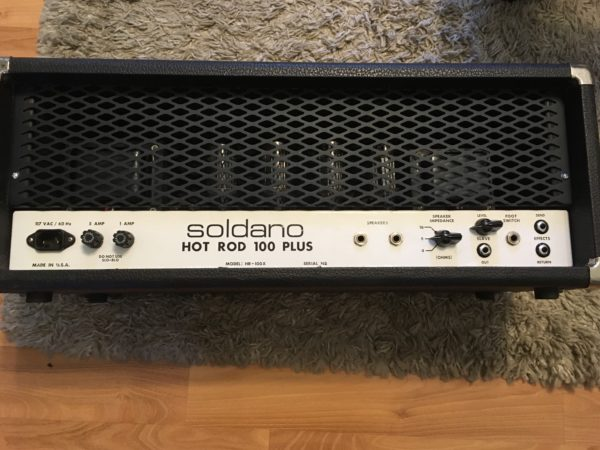 IMG 1651 600x450 - Soldano HR Hot Rod 100+ Plus Tube Amp