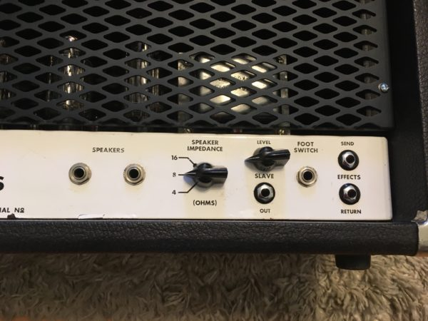IMG 1652 600x450 - Soldano HR Hot Rod 100+ Plus Tube Amp