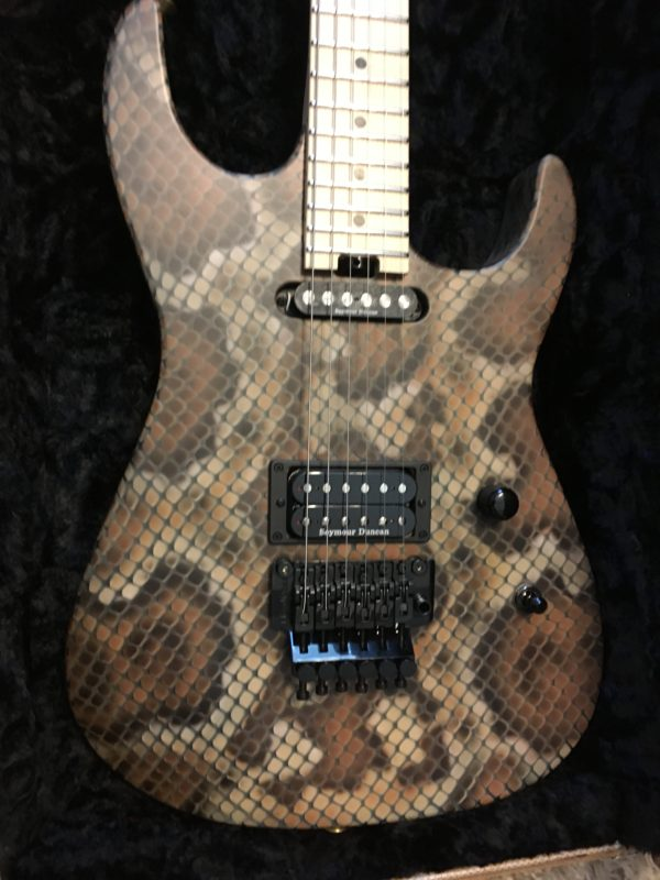 IMG 2105 e1564847471601 600x800 - Brand New 2019 Charvel USA Warren DeMartini SIgnature Snakeskin Guitar