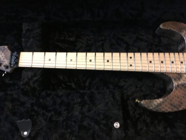 IMG 2107 600x450 - Brand New 2019 Charvel USA Warren DeMartini SIgnature Snakeskin Guitar
