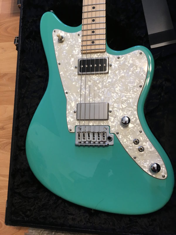 IMG 2130 600x800 - 2016 Tom Anderson Raven Classic Seafoam Green Guitar