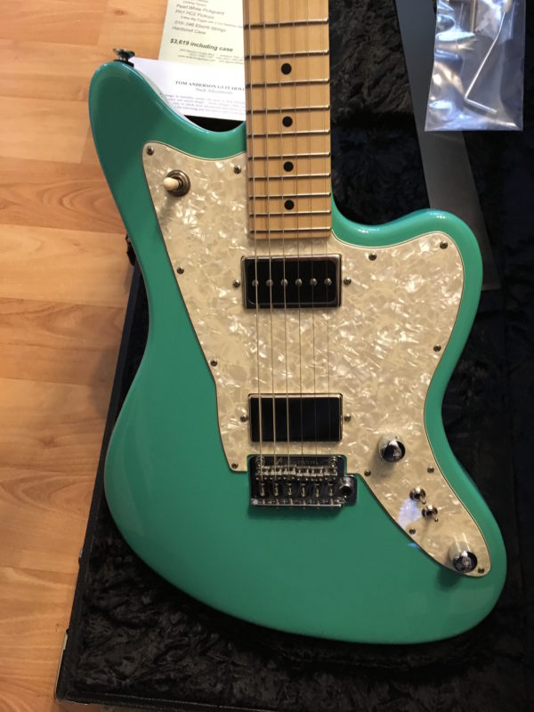 IMG 2131 600x800 - 2016 Tom Anderson Raven Classic Seafoam Green Guitar