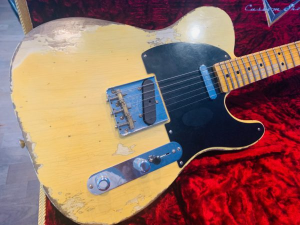 FullSizeRender 1 600x450 - 2019 Fender Custom Shop NAMM Ltd Edition 51 Nocaster Heavy Relic Guitar